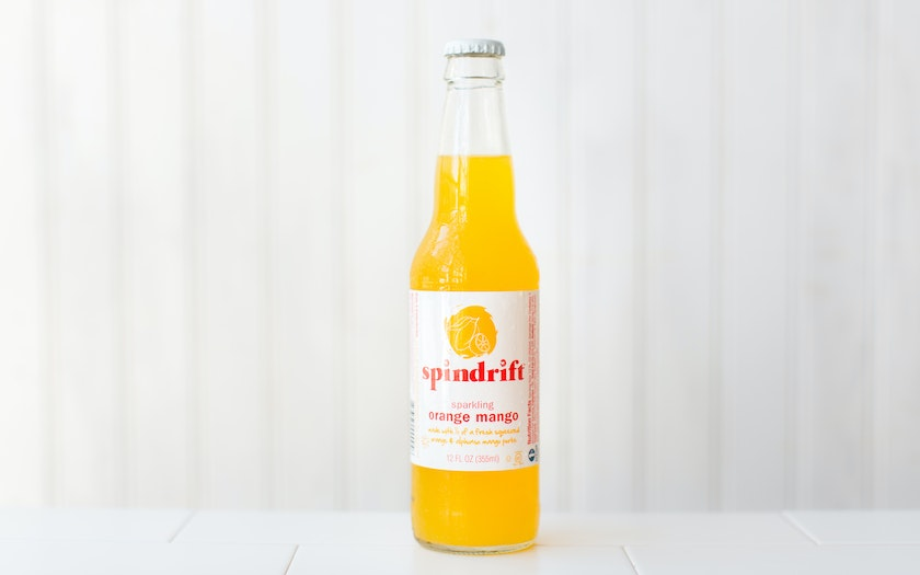 Sparkling Orange Mango Soda