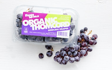 Organic Thomcord Grapes