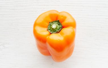 Organic & Fair Trade Orange Bell Pepper (Mexico)