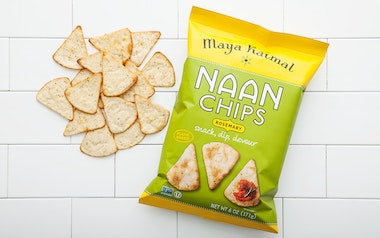 Rosemary Naan Chips