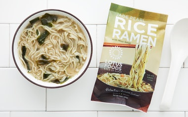 Jade Pearl Rice Ramen with Miso Soup