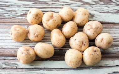 Organic Baby Yukon Gold Potatoes