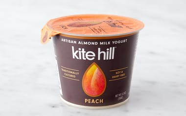 Peach Almond Milk Yogurt