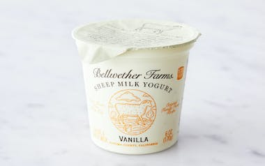 Vanilla Sheep's Milk Yogurt