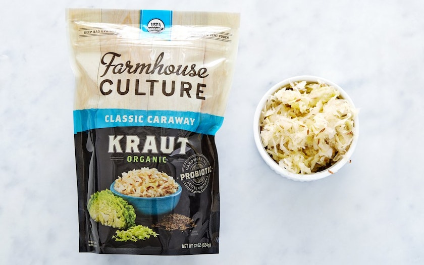 Organic Classic Caraway Kraut Farmhouse Culture SF Bay