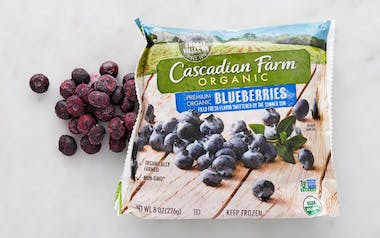 Organic Frozen Blueberries