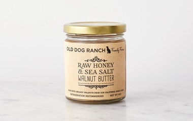 Local Honey & Sea Salt Walnut Butter