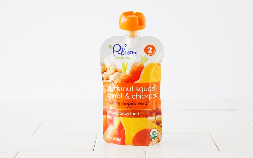 Organic Squash, Carrot & Chickpea Baby Food (6+ mos)