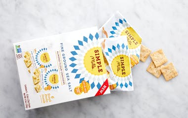 Fine Ground Sea Salt Almond Flour Cracker Snack Packs
