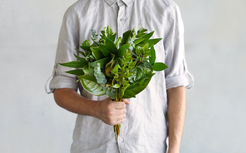 Sustainably Grown Small Greens Bouquet