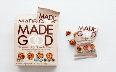Organic Chocolate Chip Granola Minis