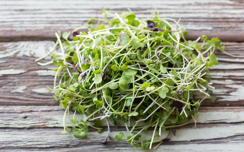 how to clean radish greens