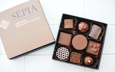 Sepia Milk Chocolate Collection
