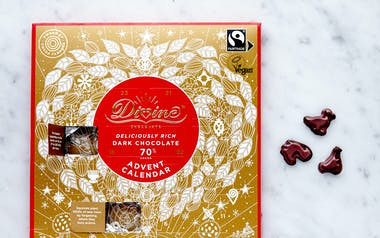 Fair Trade Dark Chocolate Advent Calendar