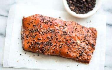 Smoked Wild Alaskan Sockeye Salmon