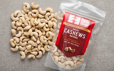 Organic Unsalted Cashews