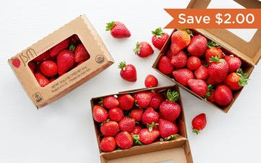 Organic Strawberry 3-Pack