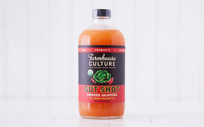 Organic Smoked Jalapeño Probiotic Gut Shot