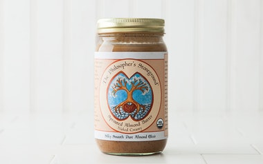 "Organic ""Naked Creamy"" Sprouted Almond Butter"