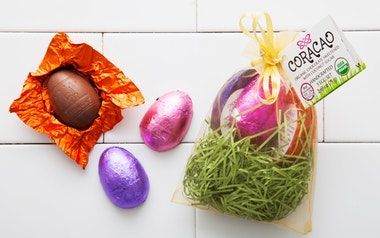 Organic Vegan Chocolate Easter Eggs