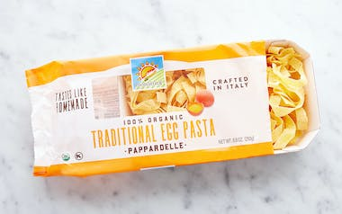 Organic Traditional Egg Pappardelle