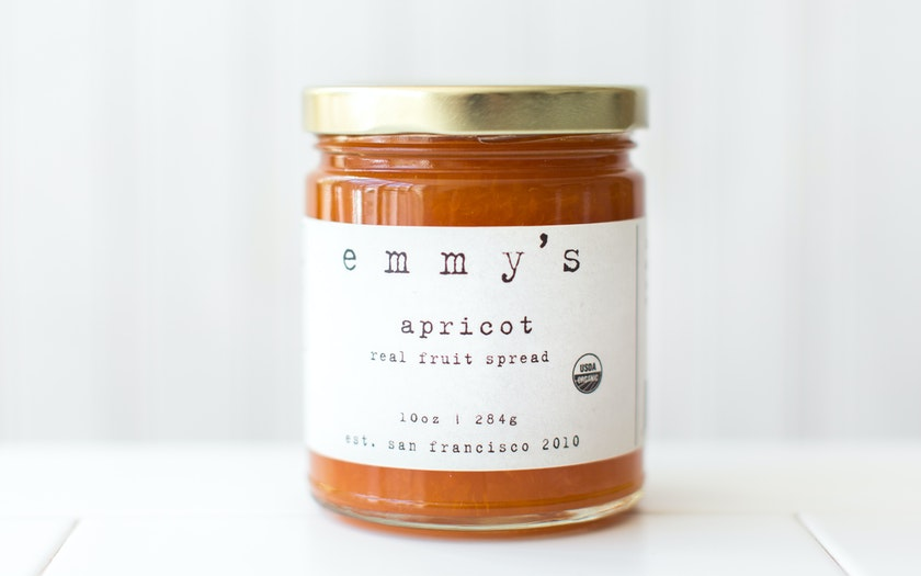 Organic Apricot Fruit Spread