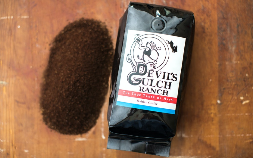 Haitian Coffee - French Roast Ground