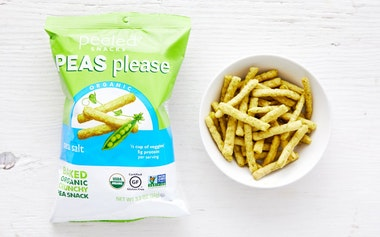 Organic Sea Salt Pea Crisps