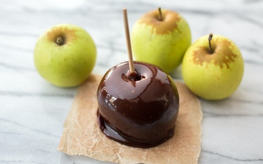 Salted Honey Caramel Apple