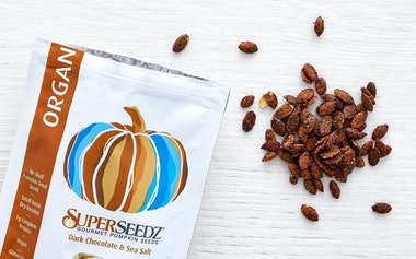 Organic Dark Chocolate & Sea Salt Pumpkin Seeds