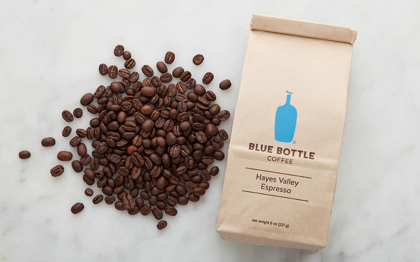 Organic Hayes Valley Espresso Coffee Beans Blue Bottle