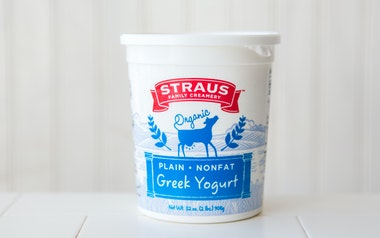 Organic Nonfat Greek Yogurt