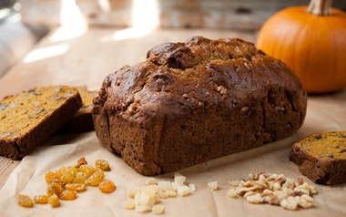 Spicy Ginger & Pumpkin Bread - Small