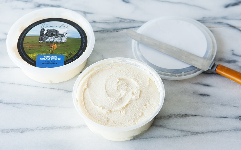 Organic Jersey Cow's Milk Cream Cheese