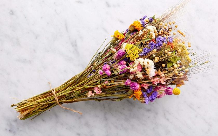 Organic Dried Flower Bouquet Full Belly Farm Sf Bay Good Eggs