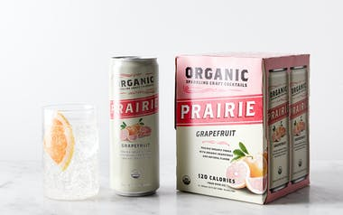 Organic Sparkling Grapefruit Craft Cocktail
