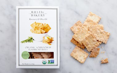 Organic Mini Rosemary & Olive Oil Flatbread