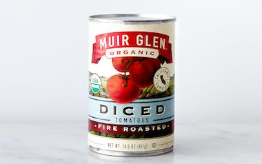 Organic Fire Roasted Diced Tomatoes