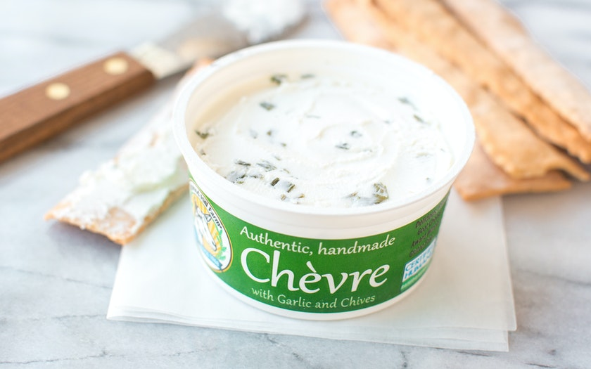 Garlic and Chive Chèvre