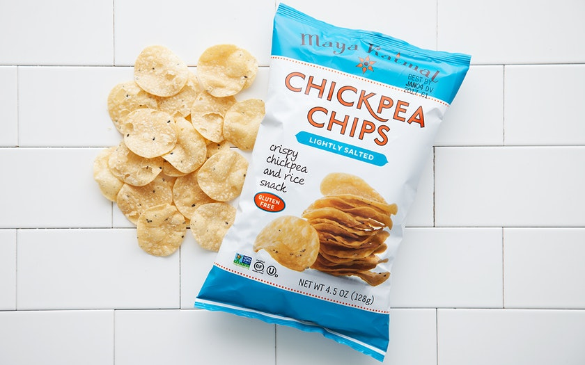 Gluten-Free Lightly Salted Chickpea Chips