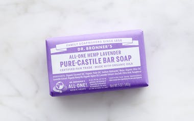 Organic Lavender Bar Soap