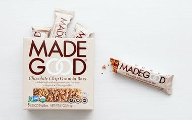 Organic Chocolate Chip Granola Bars