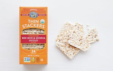 Organic Salt-Free Red Rice & Quinoa Thin Stackers