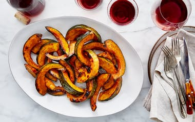 Glazed Winter Squash with Maple Brown Butter