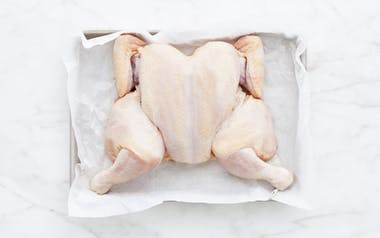 Brined Spatchcocked Chicken (Frozen)