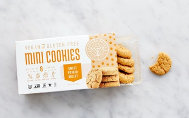 Vegan & Gluten-Free Sweet Potato Millet Cookies