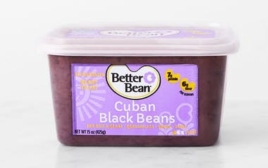 Refried Cuban Black Beans