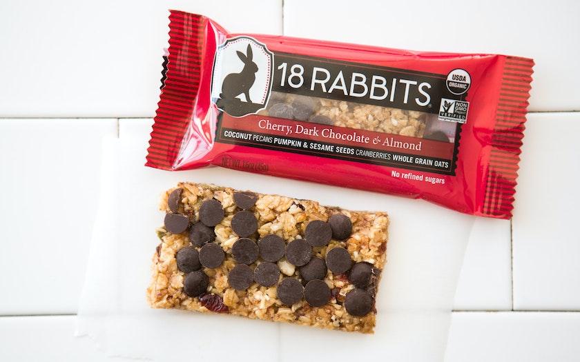 Gluten-Free Cherry, Dark Chocolate & Almond Bar - 18 ...