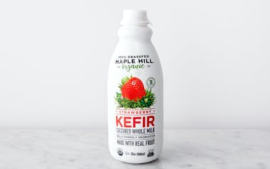 Organic Grass-Fed Strawberry Kefir