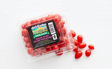 Organic & Fair Trade Sugar Plum Grape Tomatoes (Mexico)